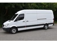 Van hire Removal service Furniture move man with van call/07473775139