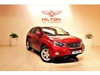 LEXUS RX 3.5 450H SE-I 5d AUTO 249 BHP + 0% DEPOSIT Finance (red) 2011