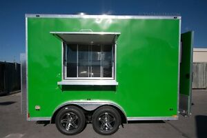 2017 Stealth Trailers Al Fresco 7.5x12 concession trailer