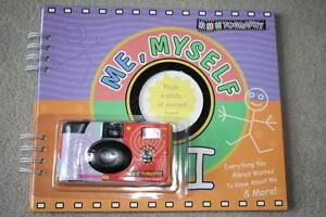BRAND NEW -FUNTOGRAPHY - ME, MYSELF AND I - Personal Memory Book