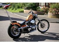 Harley Davidson Ironhead Sportster XLH 1000 Chopper built by So Low Choppers