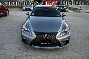 2014 Lexus IS 250 F-SPORT CERTIFIED & E-TESTED!**WINTER SPECIAL!