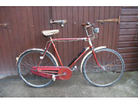 Gents Raleigh Boulevard Tourist ( 1963) ideal for show restoration