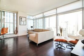 VACANT HIGH FLOOR FURNISHED 2 BEDS 2 BATHS IN PAN PENINSULA WITH GYM POOL E14 MB