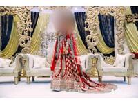 """SACHE"" Designer Indian wedding dress, immaculate condition"