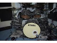 Tama Starclassic birch Bubinga 5 piece limited edition drum kit