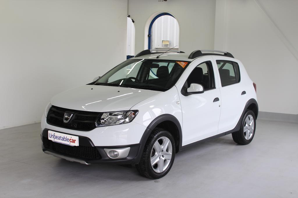 dacia sandero stepway 1 5 dci ambiance 5dr white 2014 in crawley west sussex gumtree. Black Bedroom Furniture Sets. Home Design Ideas