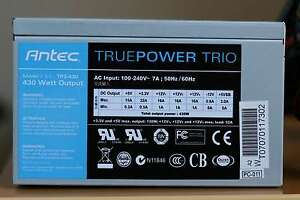 Antec TP3-430 Power Supply - 430 watts West Island Greater Montréal image 1