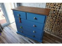 CHEST OF DRAWERS,SIDEBOARD,DRESSING TABLE,SHABBY CHIC, VINTAGE, RETRO (free delivery)