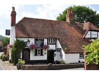 Sous Chef wanted for The Catherine Wheel Goring on Thames. An award winning destination village pub.