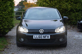 2010 VW Golf Mk6 2.0 GT TDI (140) in Metallic Black - DSG automatic