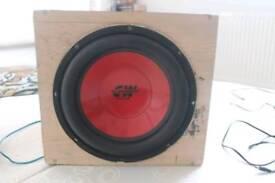 Bass Box 800w max power 200w rms