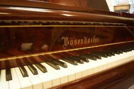 Bösendorfer concert grand piano - Delivery available world wide