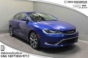 2016 Chrysler 200 C Leather  Sunroof - Power Seat