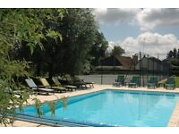 Holiday home with pool and tennis court in Northern France - 6/8 guests -