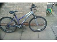 Ladies giant rock mountain bike