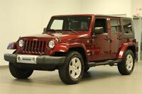2008 Jeep Wrangler SAHARA UNLIMITED 2 TOITS
