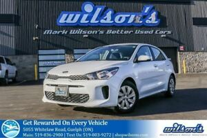 2018 Kia Rio5 LX+ HATCHBACK! HEATED STEERING+SEATS! REAR CAMERA!