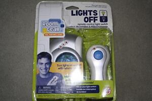 BRAND NEW - LIGHTS OFF - REMOTE CONTROL LIGHT SWITCH