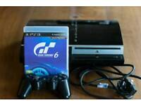 PlayStation 3 (PS3) with GT6 and Wireless Controller
