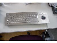 Devlin - stainless steel kiosk keyboard