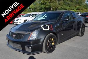 2012 Cadillac CTS-V 6.2L SUPERCHARGE CUIR/SUEDE TOIT PANO NAVI