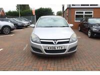 VAUXHALL ASTRA 1.4 ACTIVE 16V TWINPORT 5d 90 BHP (silver) 2006