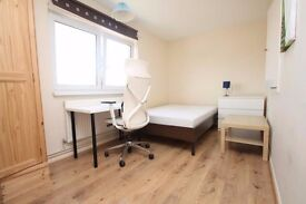 Modern finish, wood floors, kitchen diner, large double bedrooms, modern finish, mins to London brdg