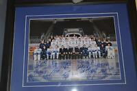 Marlies Picture frame with Official signatures.