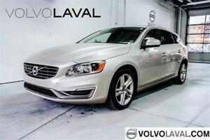 2015 Volvo V60 T5 AWD Premier Plus CUIR*TECH