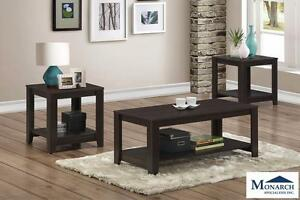 Brand NEW 3PC Coffee Table Set! Call 709-726-6466!