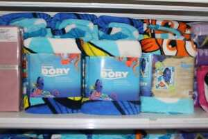 DISNEY Throws (Dory, Frozen and Avengers) from $9.99 to $19.99
