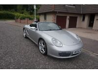 Porsche Boxster S 3.2L 2005 - Silver - PASM - Black Leather - Excellent condition - 12 Months MOT