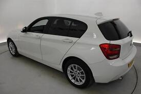 BMW 1 SERIES 114d ES 5dr [Business Media] (white) 2014