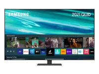 SAMSUNG 2021 QLED QE55Q80AATXXU 55 inch Smart 4K TV ,SOLAR REMOTE