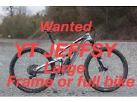 Wanted YT Jeffsy large