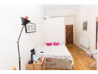 Large studio with separate kitchen, Leinster Gardens, Bayswater, W2.