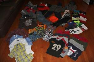 Large clothing lot - boys size 4T