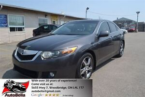 2009 Acura TSX Premium Leather Sunroof Bluetooth