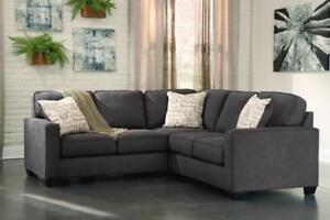Alenya Sectional - Ashley Furniture - SAVE UP TO 50% - FREE CALGARY DELIVERY AND SET UP