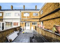 A stylish three bedroom two bathroom property situated just moments from Chrisp Street market