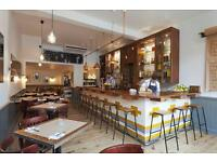 **Waiter - CLAPHAM Full time and Part time **