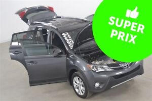 2015 Toyota RAV4 Limited GPS+Cuir+Toit Ouvrant+Camera de Recul