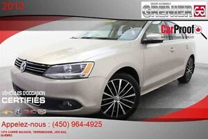 2013 Volkswagen JETTA Highline *CUIR + MAGS + TOIT OUVRANT*