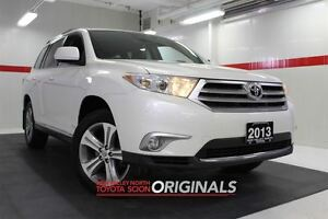 2013 Toyota Highlander 4WD Heated Lthr Sunroof Btooth BU Camera