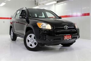2012 Toyota RAV4 4WD CRUISE CONTROL TOYOTA CERTIFIED IMMACULATE