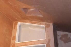 Skimming painting laminate decorating and building work