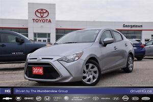 2016 Toyota Yaris Sedan with manual transmission and winter tire