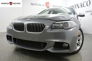 2013 BMW 5 Series 528i XDRIVE, LUXURY PKG, NAV, CAMERA 360, BLUE