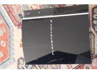 Playstation 3 PS3 Console gaming unit broken black